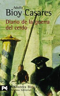 Cubierta Diario de la guerra del cerdo