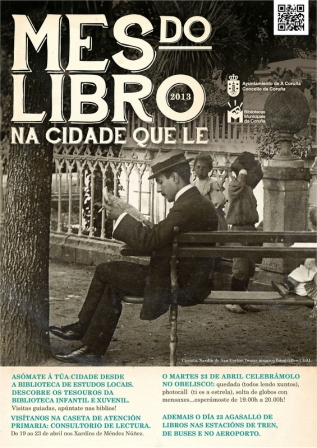 Cartel Mes do Libro 2013