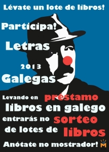 Letras Galegas na Biblioteca Municipal Fórum Metropolitano