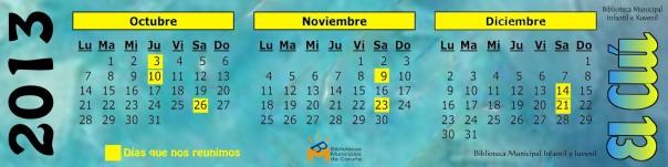 """Calendario """"El Clú"""""""