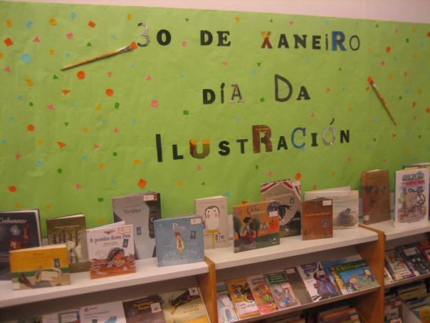 Mostra bibliográfica na Biblioteca Municipal Infantil e Xuvenil