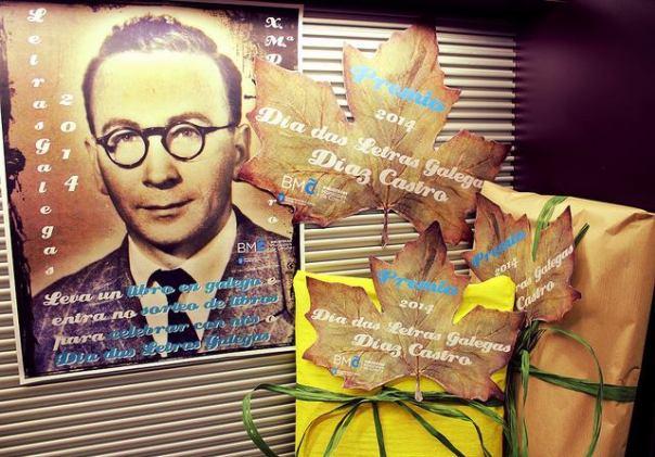 O poeta Díaz Castro