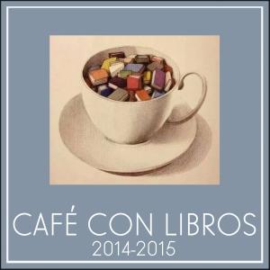 Logo Café con libros 2014-2015