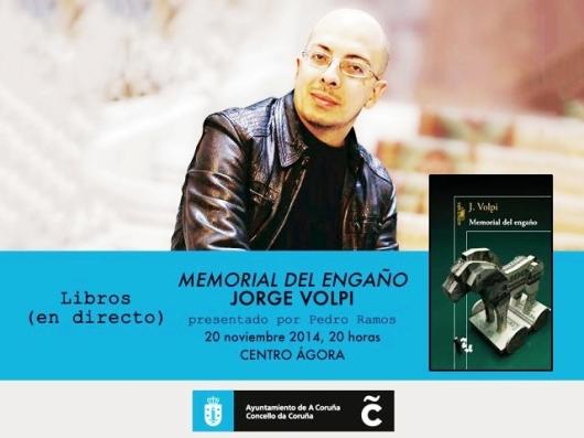 Jorge Volpi en libros en directo