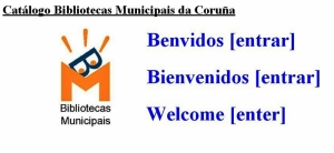 Catálogo das bibliotecas municipais