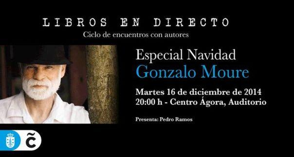Gonzalo Moure en libros en directo