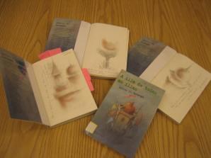 Libros dedicados polos autores
