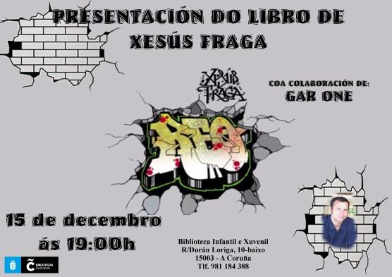 Presentación da novela xuvenil Reo de Xesús Fraga