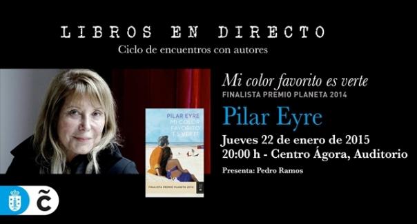 Pilar Eyre en Libros en Directo