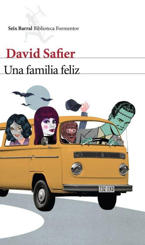 Portada de Una familia feliz de David Safier