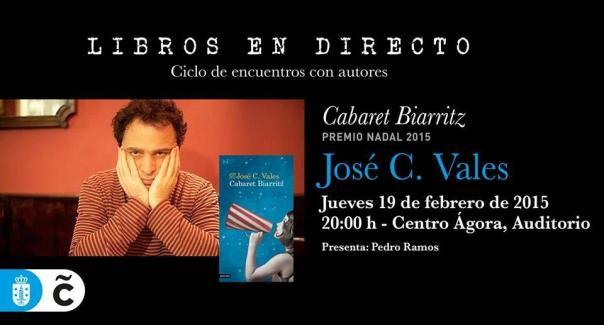Jose Vales en libros en directo