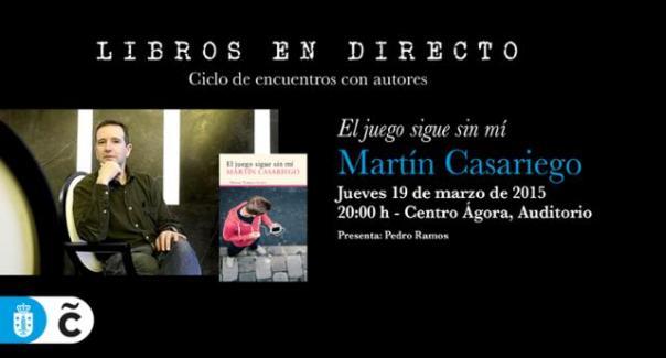 Martín Casariego en Libros en Directo