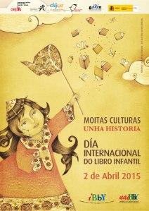 Cartel do Día do Libro Infantil e Xuvenil 2015