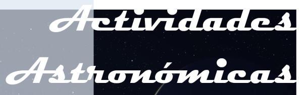 Actividades Astronómicas na Biblioteca Forum