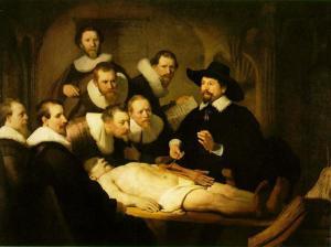 Rembrandt, La lección de anatomía del doctor Nicolaes Tulp,