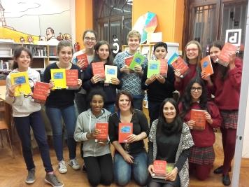Entrega do primeiro libro de ElClú do curso 2016/17