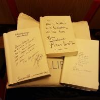 Firmas de autores