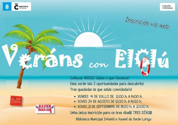 Cartel 'Veráns con ElClú'