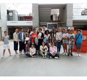 Foto de grupo con Iván no Forum