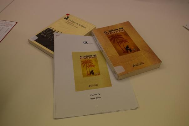 Libro y guia de lectura de El señor Pip