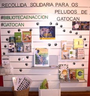 Mostra de apoio á colaboración con Gatocán