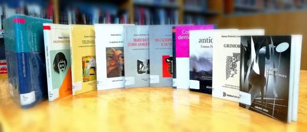 Emma Pedreira nas Bibliotecas Municipais da Coruña