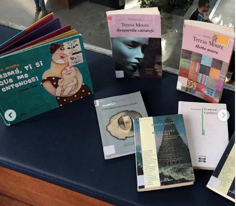 Teresa Moure nas Bibliotecas Municipais da Coruña