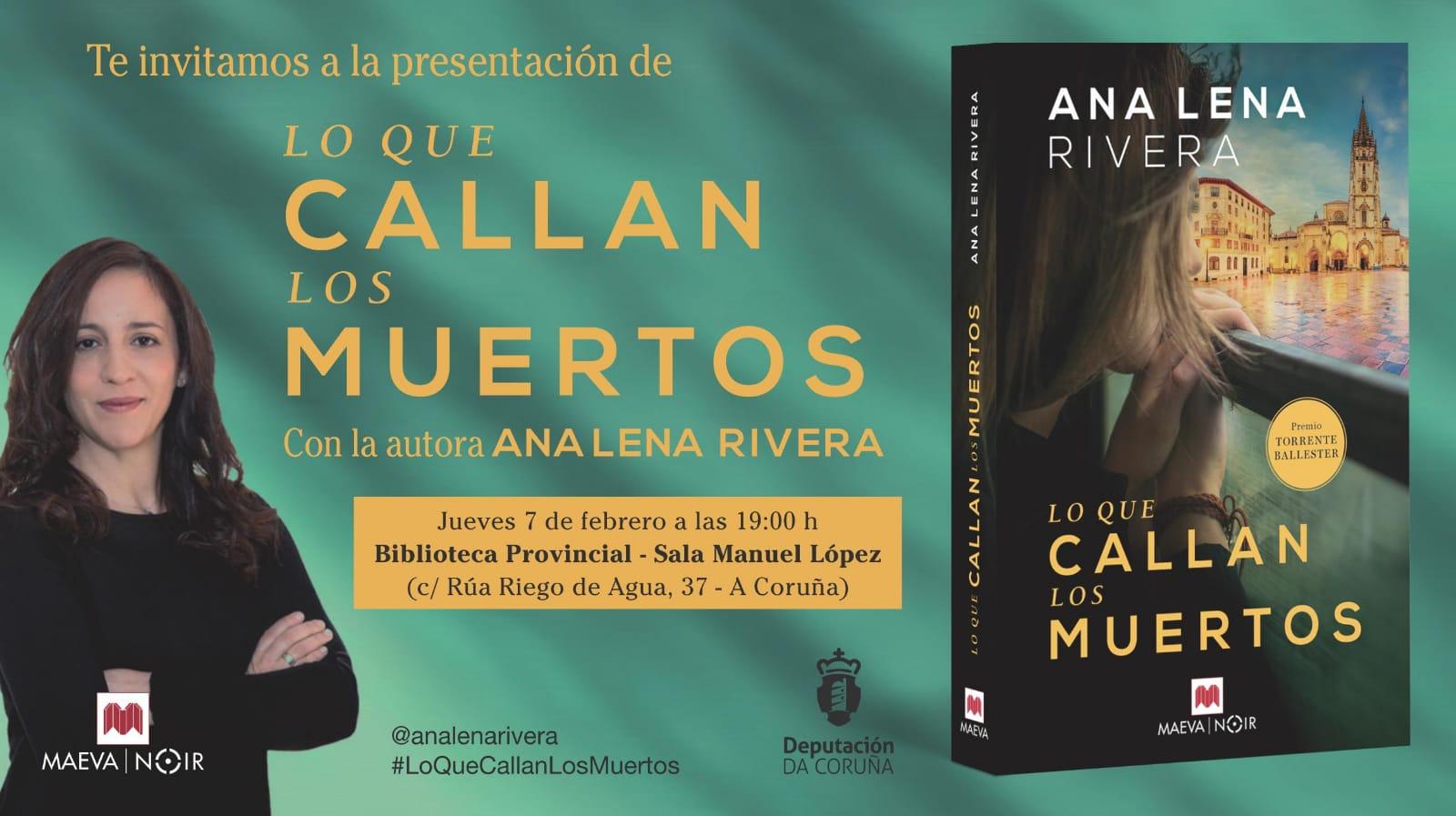 Lo que callan los muertos é unha novela de misterio ambientada en Oviedo e  protagonizada por unha investigadora de fraudes que por unanimidade  espertou a ...