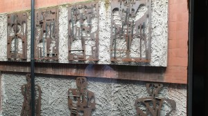 Mural figuras estáticas