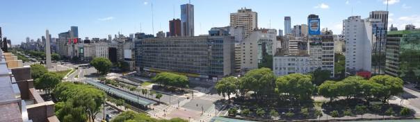 Avenida 9 de Julio-Bos Aires