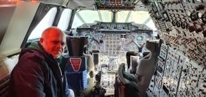 Cabina do Concorde