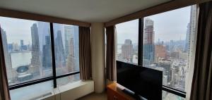 Vista de Nova York desde o hotel Hilton