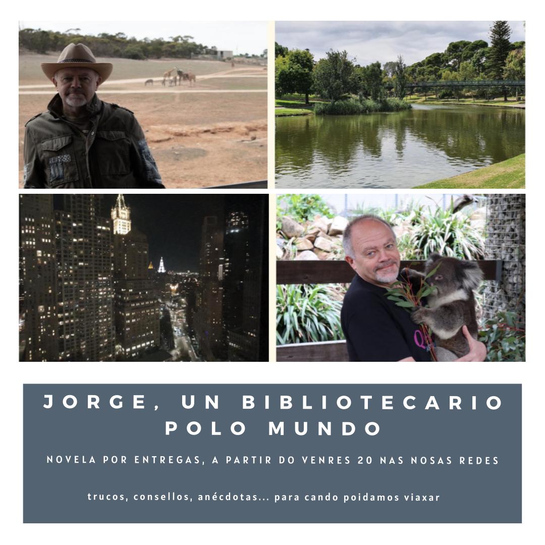 Jorge, Un bibliotecario arredor do mundo