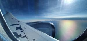 Vista desde o avión